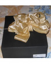 Is it cookies, chocolate, taffy? Guess you'll have to open it to see!