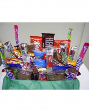 Candy bars are a good item to ship during the colder months, so these may be substituted during summer/warmer months.