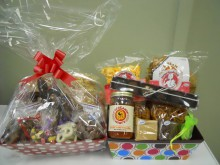 These filled baskets are a perfect gift to show appreciation to a coworker or a friend!