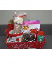 a basket of goodies is a great treat!