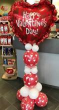 Valentine balloon sculpture