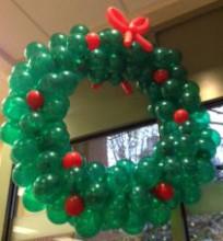 Balloon Wreath Ah Whatta Bout Mimi