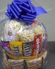 add gourmet flavors of popcorn! Just let us know.