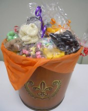 Fill it with gourmet chocolate grab bags