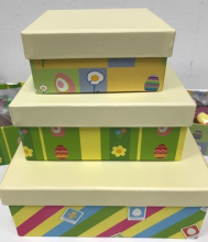 Easter stack boxes