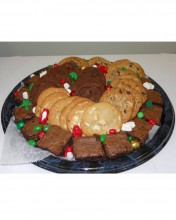 Ask us what cookies and brownies we have in stock and choose your favorite.