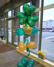 It's the Luck of the Irish with this groovin' St. Patty's Balloon Column.  Perfect for pictures or doorways.
