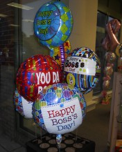 Give your boss something special with one of our Boss's Day balloons added to a bouquet or just tie it onto a grab bag of chocolate, yum.