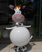 Watch out Annabell! There's a new cow in town