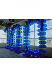 This huge sculpture was created for an organization's 100th year anniversary!