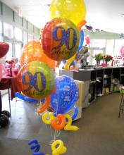 Celebrate your age no matter how old or young you are.  Many different ages of balloons available. Also works for anniversaries.