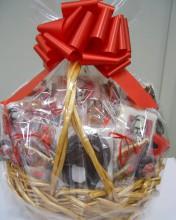 a huge basket of cookies