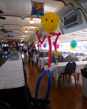 Need someone tall, dark, and handsome?? Well how about a tall, dancing, full of air balloon man? we've got you covered