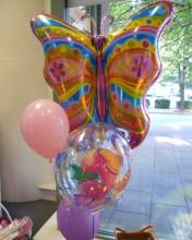Balloon Butterfly Bouquet